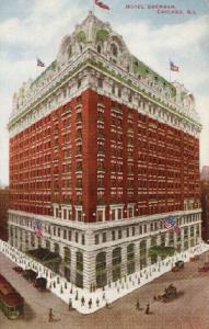 Hotel Sherman, ca. 1915